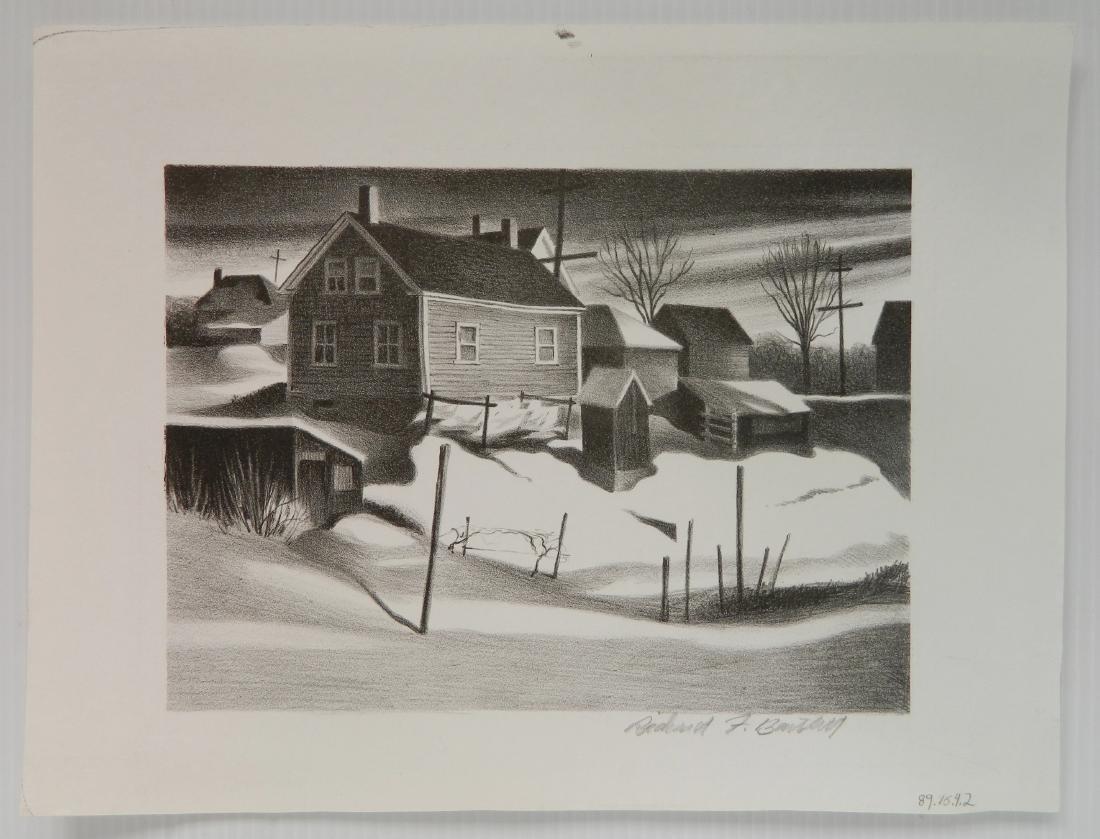 Richard Bartlett lithograph - 2