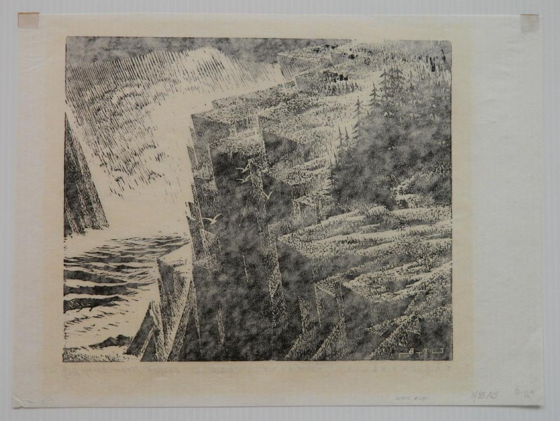 Carroll Thayer Berry wood engraving - 5
