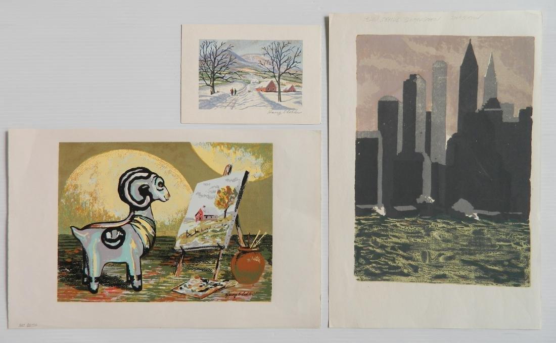 H. Blumenschein; H. Shokler - 3 prints