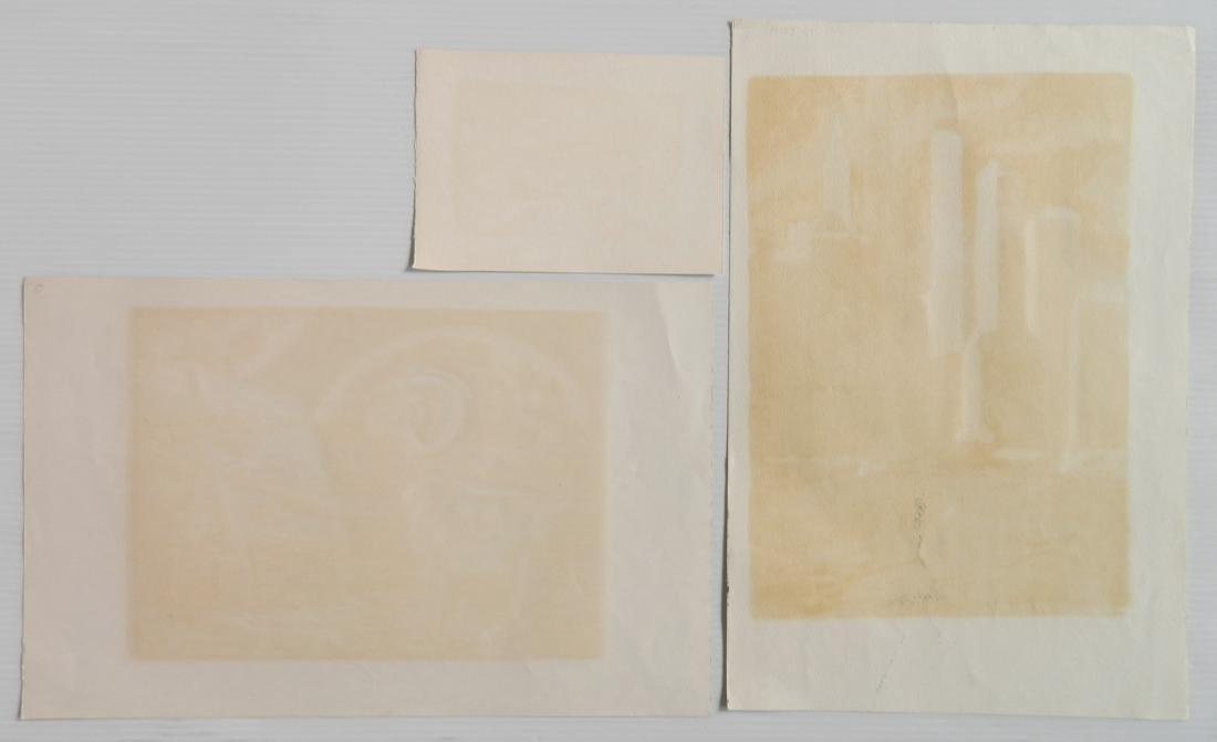 H. Blumenschein; H. Shokler - 3 prints - 2