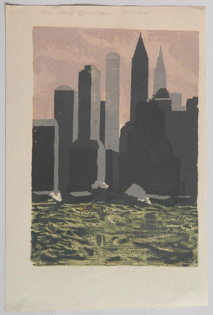 H. Blumenschein; H. Shokler - 3 prints - 6