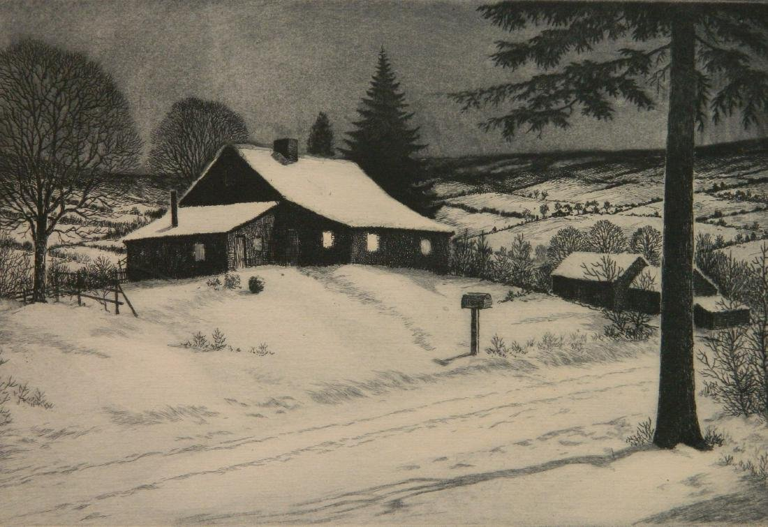 George Bradshaw etching