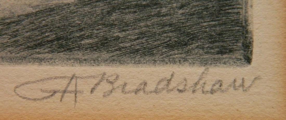 George Bradshaw etching - 3