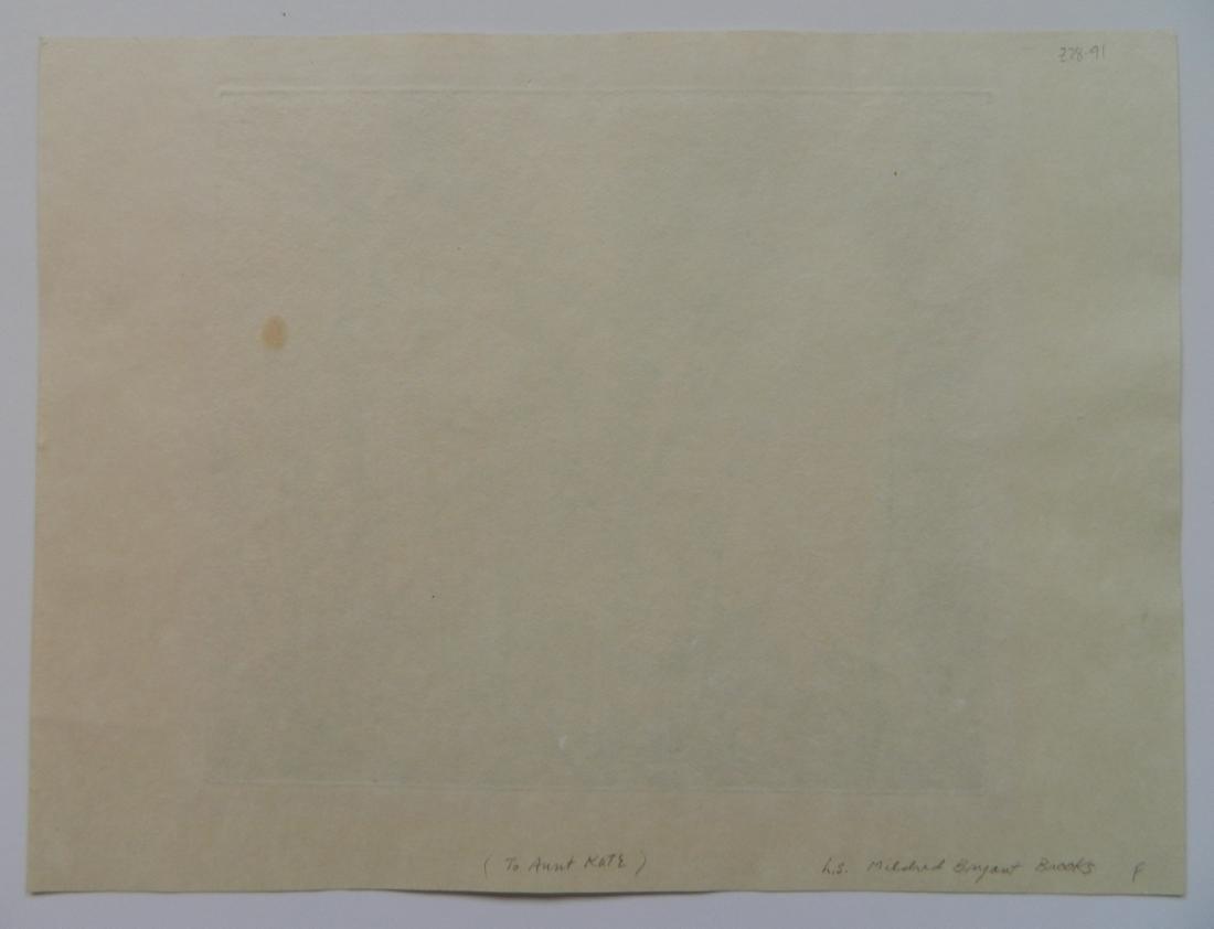Mildred Bryant Brooks 2 etchings - 7