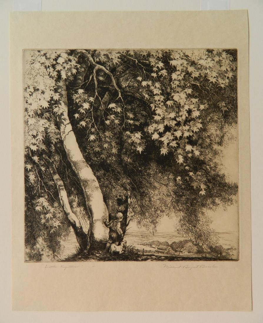 Mildred Bryant Brooks 2 etchings - 8