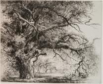 Mildred Bryant Brooks etching