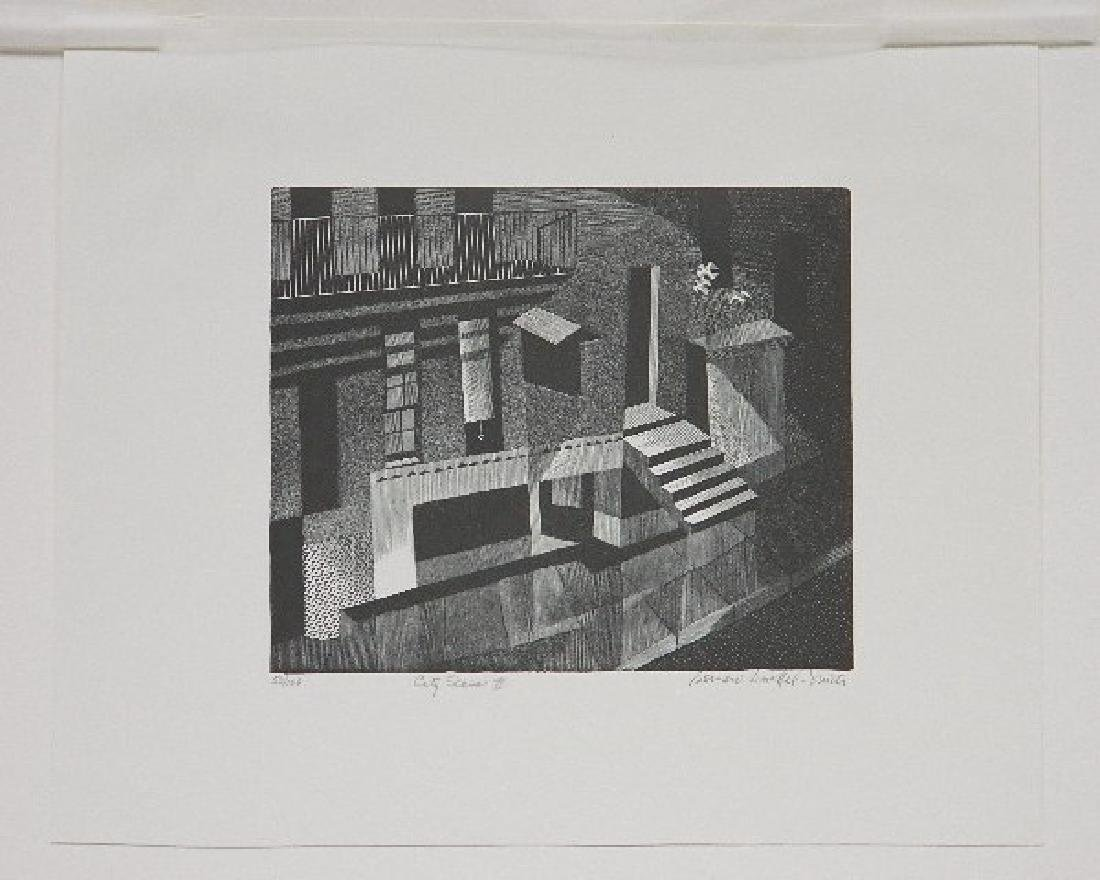 Bernard Brussel-Smith wood engraving - 2