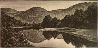 Asa Cheffetz wood engraving