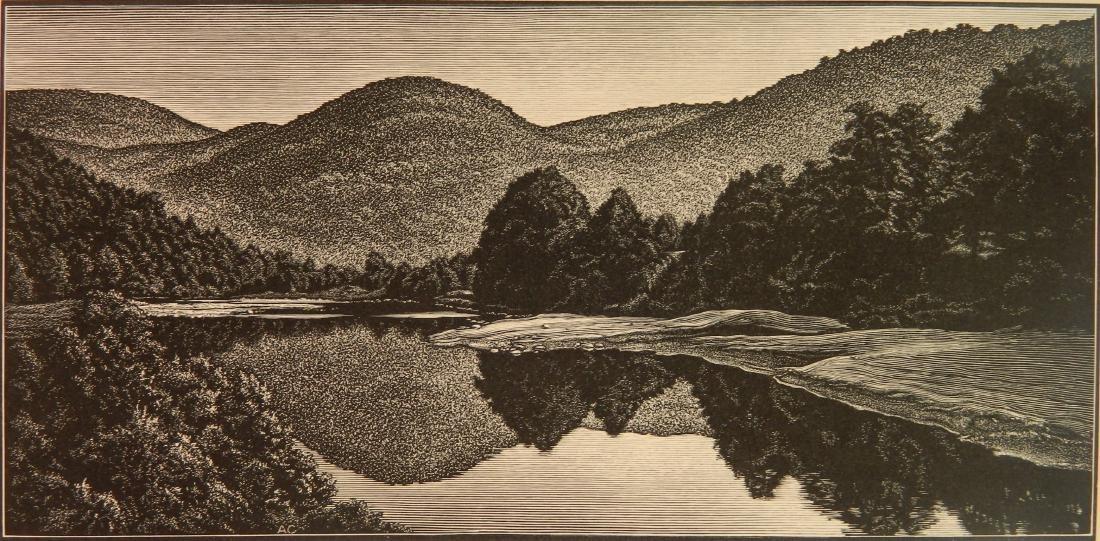 Asa Cheffetz wood engraving
