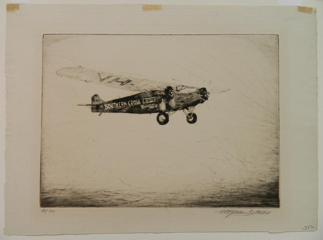 Wayne Davis etching - 2