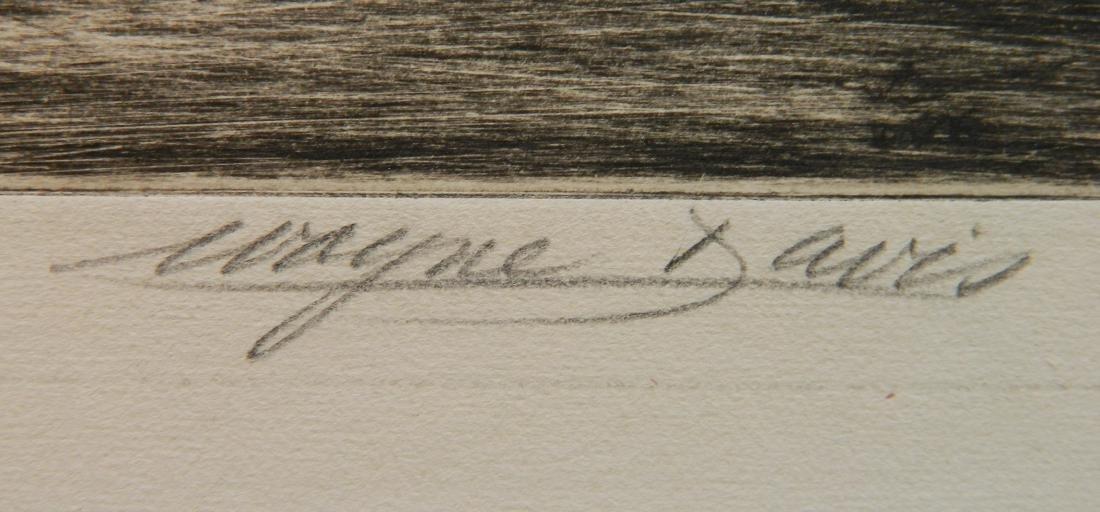 Wayne Davis etching - 3