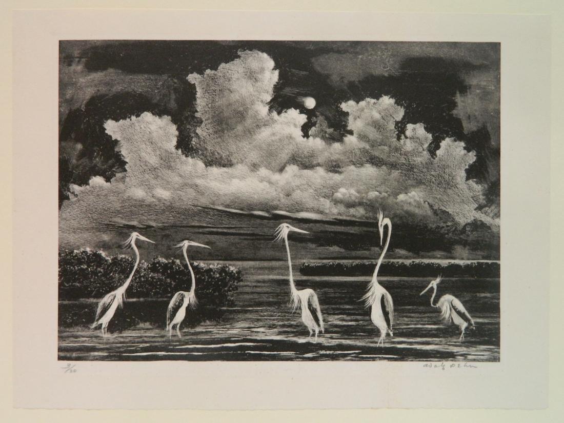 Adolf Dehn lithograph - 2