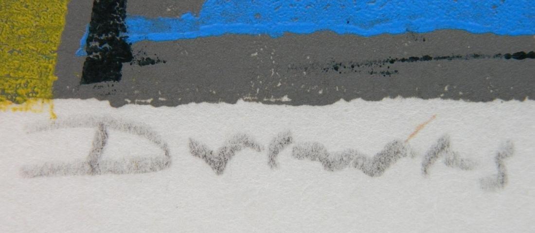 Werner Drewes woodcut - 3