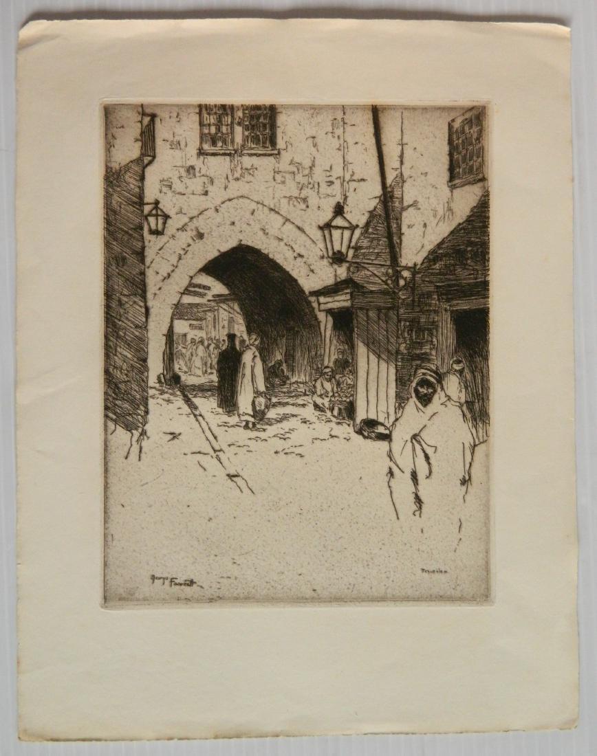 George Fawcett  etchings - 10