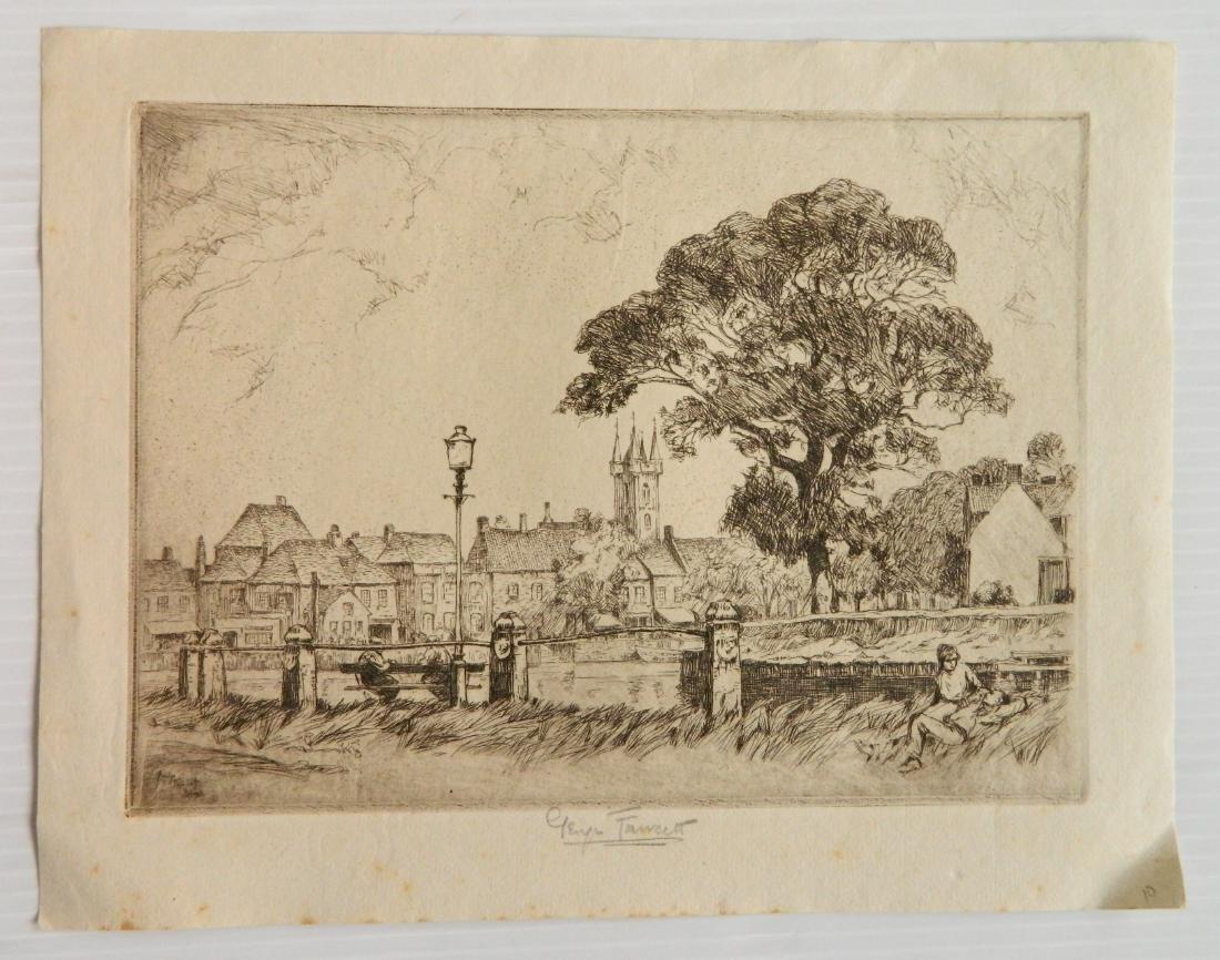 George Fawcett  etchings