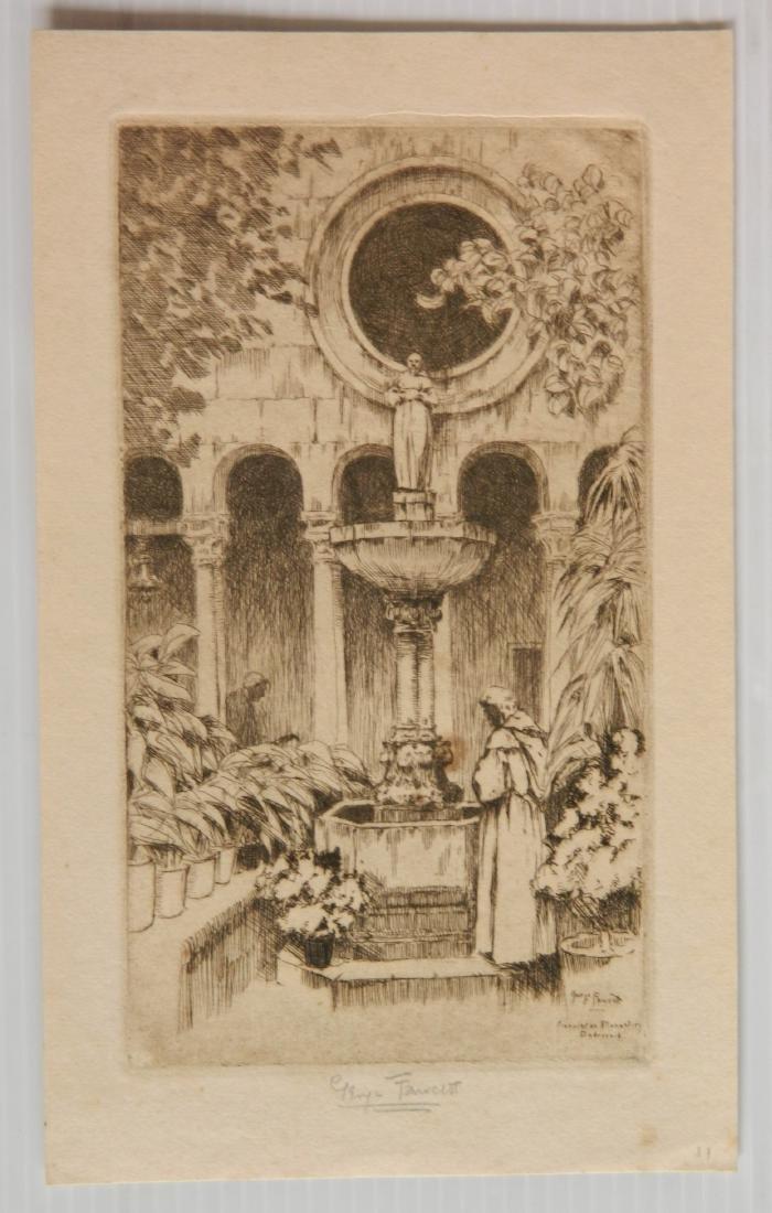 George Fawcett  etchings - 4