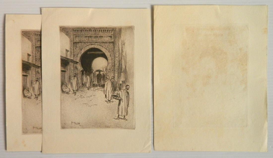 George Fawcett  etchings - 5