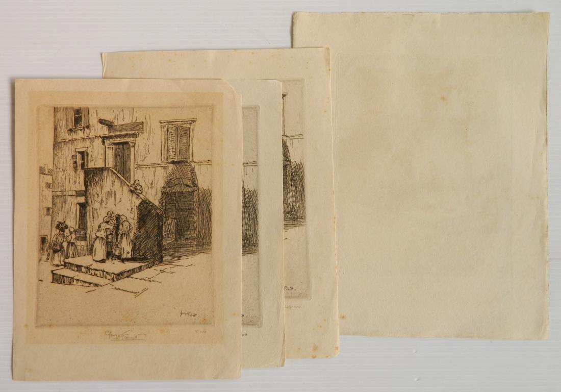 George Fawcett  etchings - 8