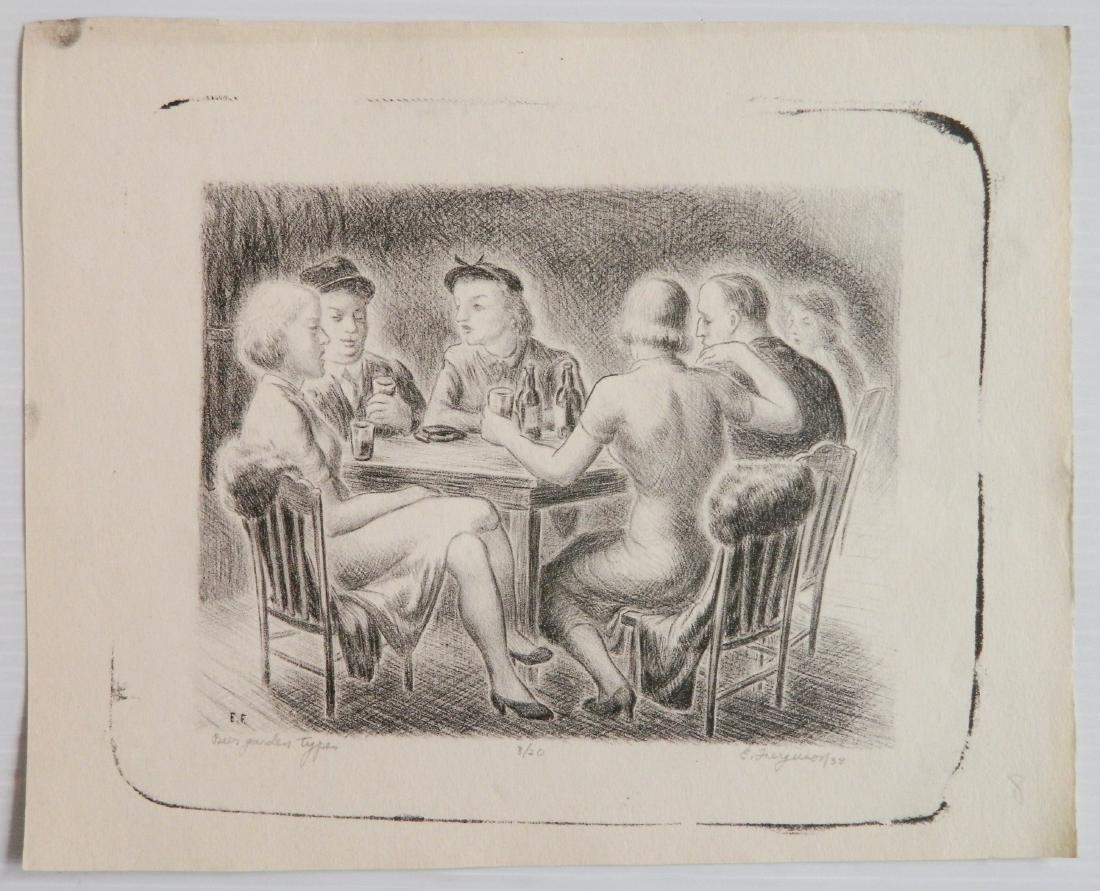 Edward Ferguson 3 lithographs - 3