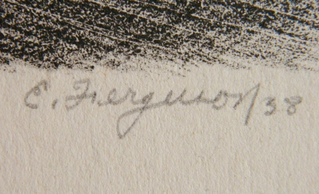 Edward Ferguson 3 lithographs - 4