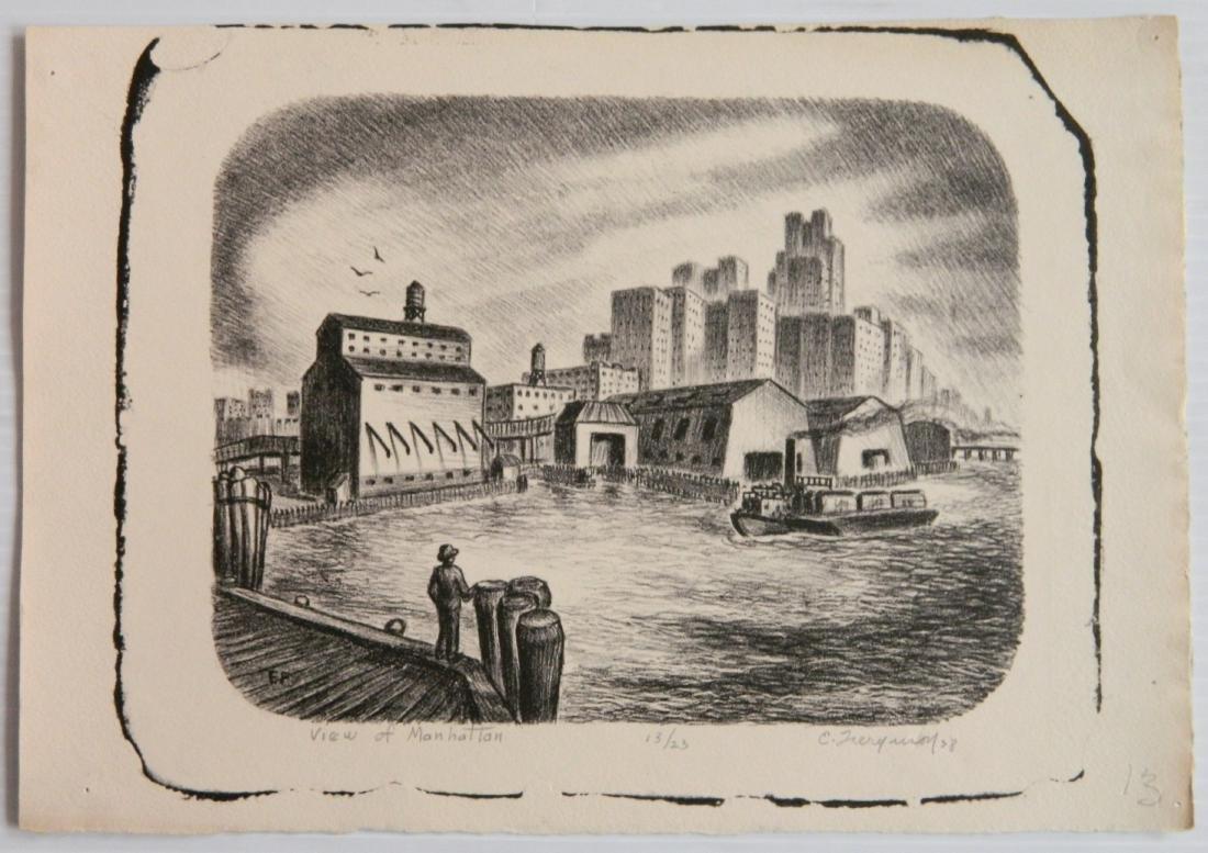 Edward Ferguson 3 lithographs - 5