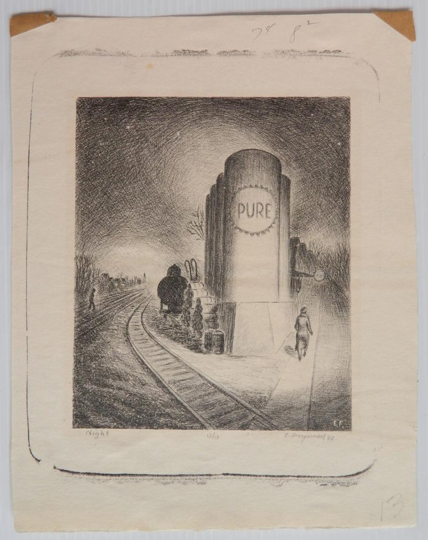 Edward Ferguson 3 lithographs - 6
