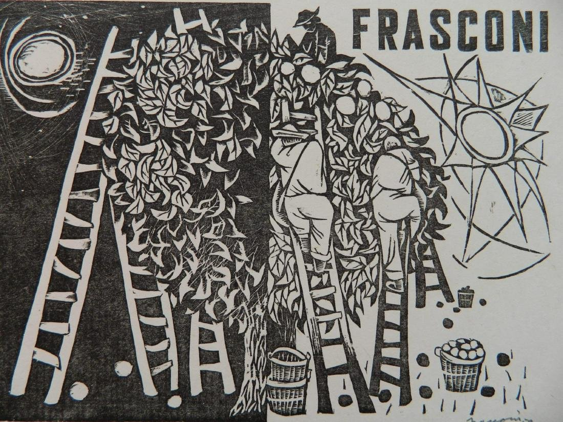 Antonio Frasconi woodcut