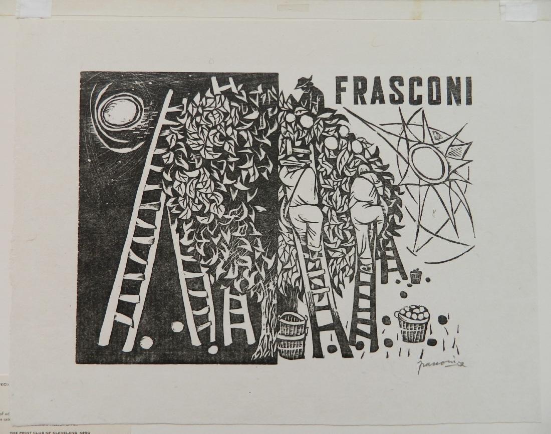 Antonio Frasconi woodcut - 2