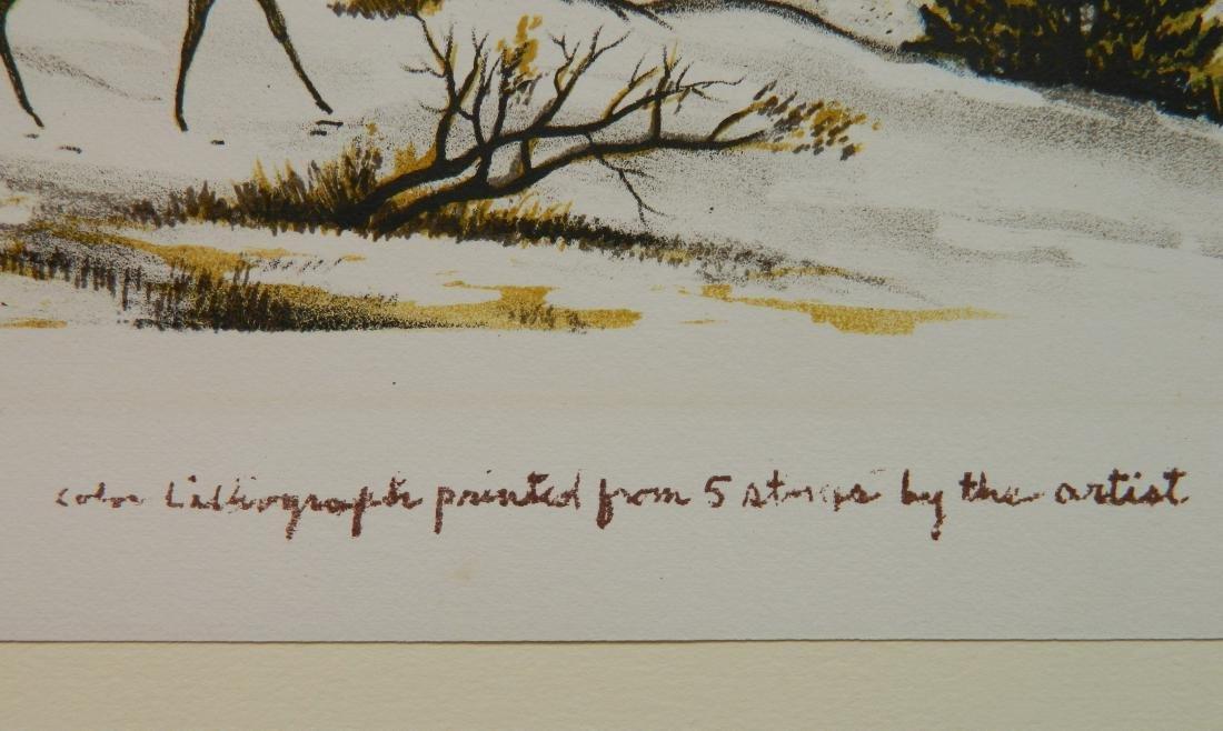 Emil Ganso lithograph - 4