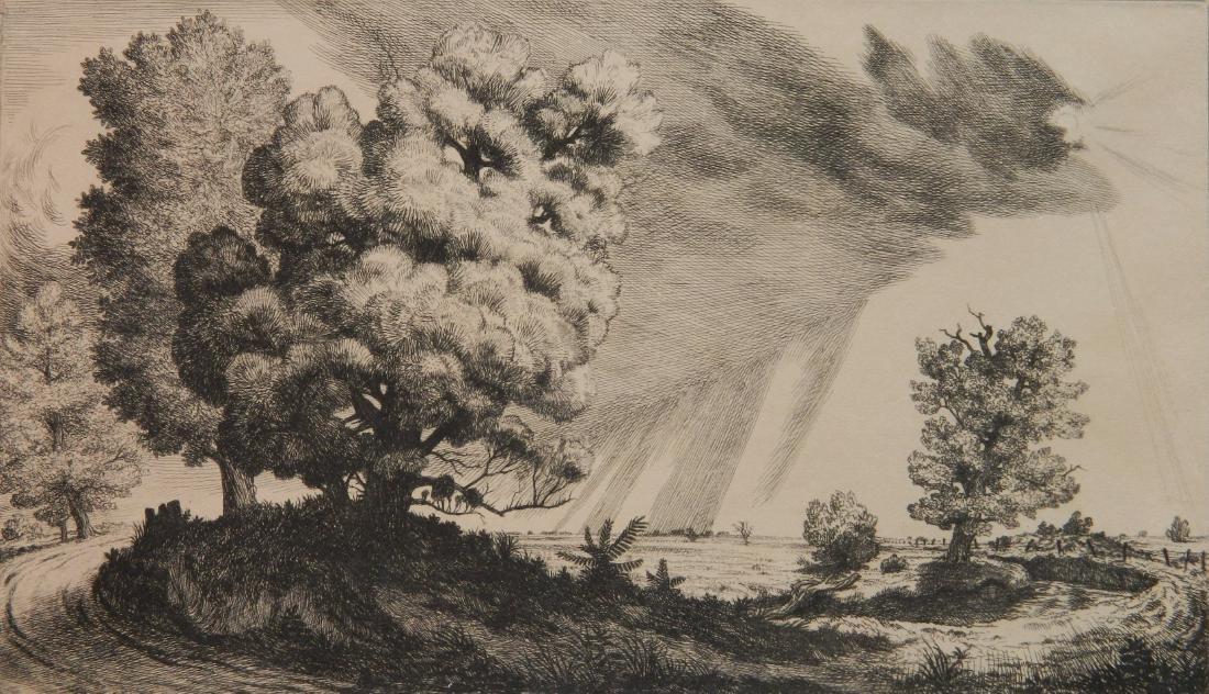 Douglas Gorsline etching