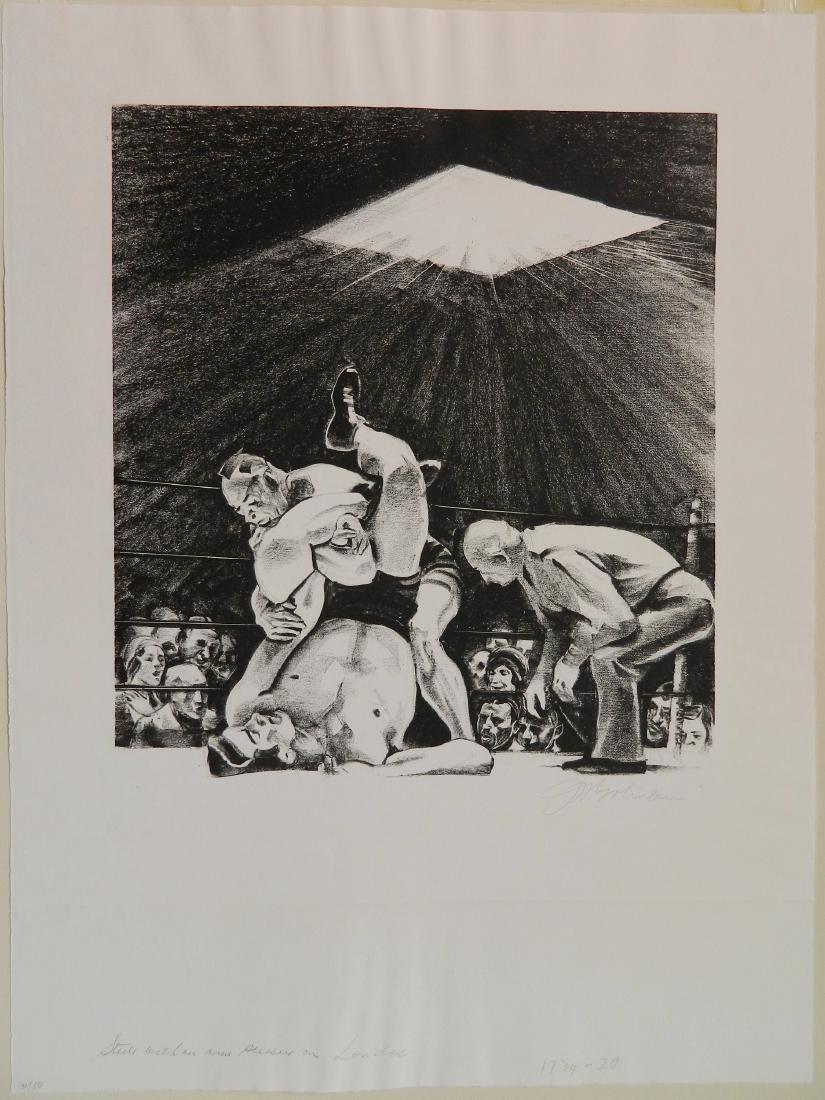 Joseph W. Golinkin lithograph - 2