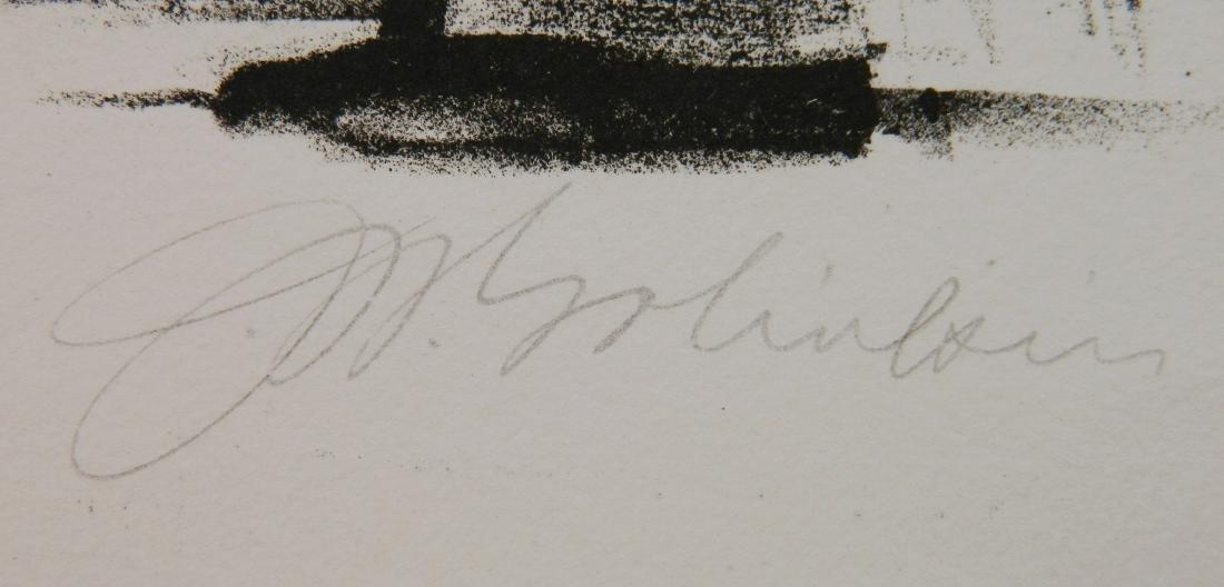 Joseph W. Golinkin lithograph - 3