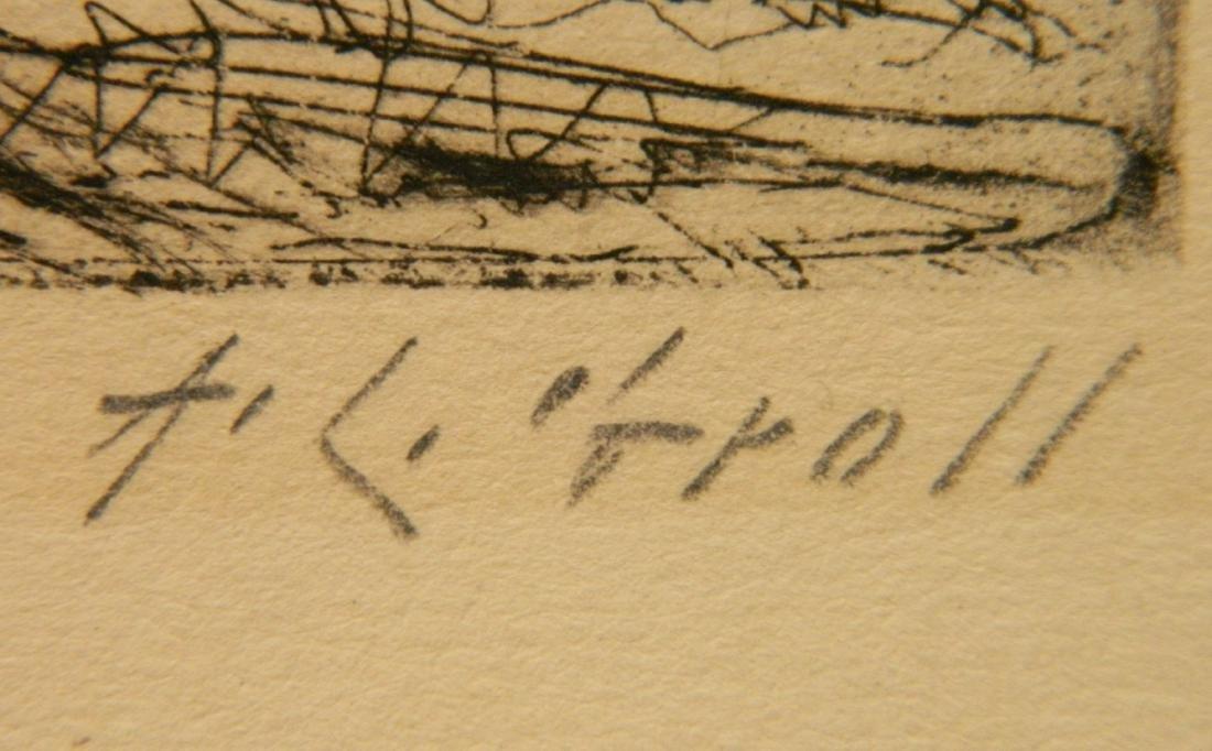 Albert L. Groll 2 etchings - 3