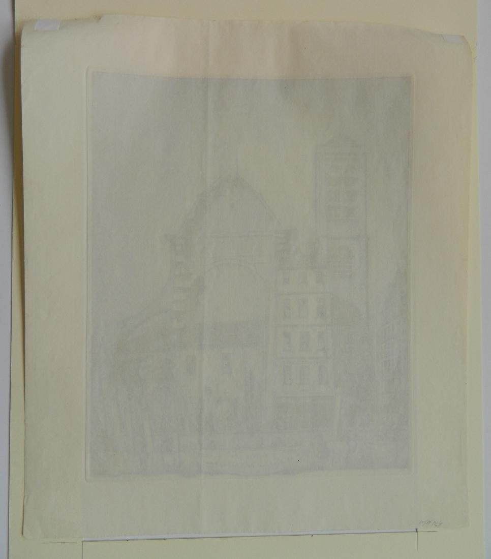 Frederick Hall 2 etchings - 5