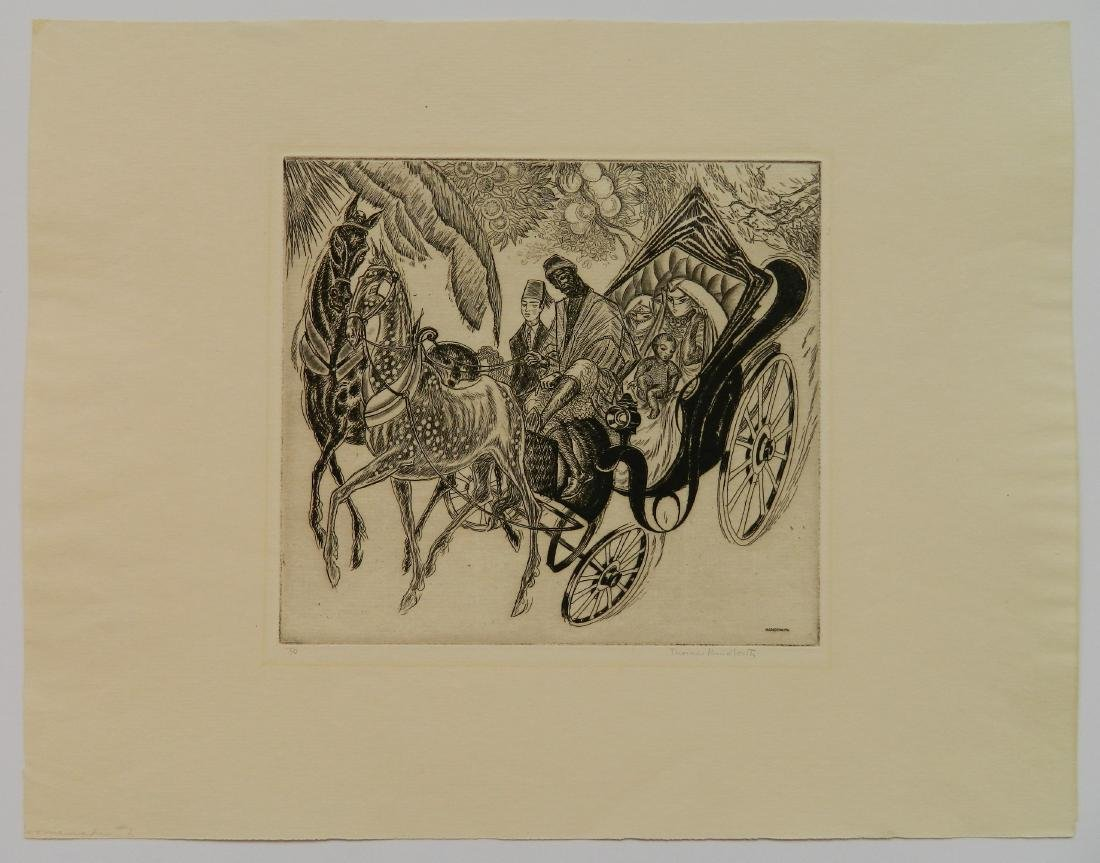 Thomas Handforth etching - 2
