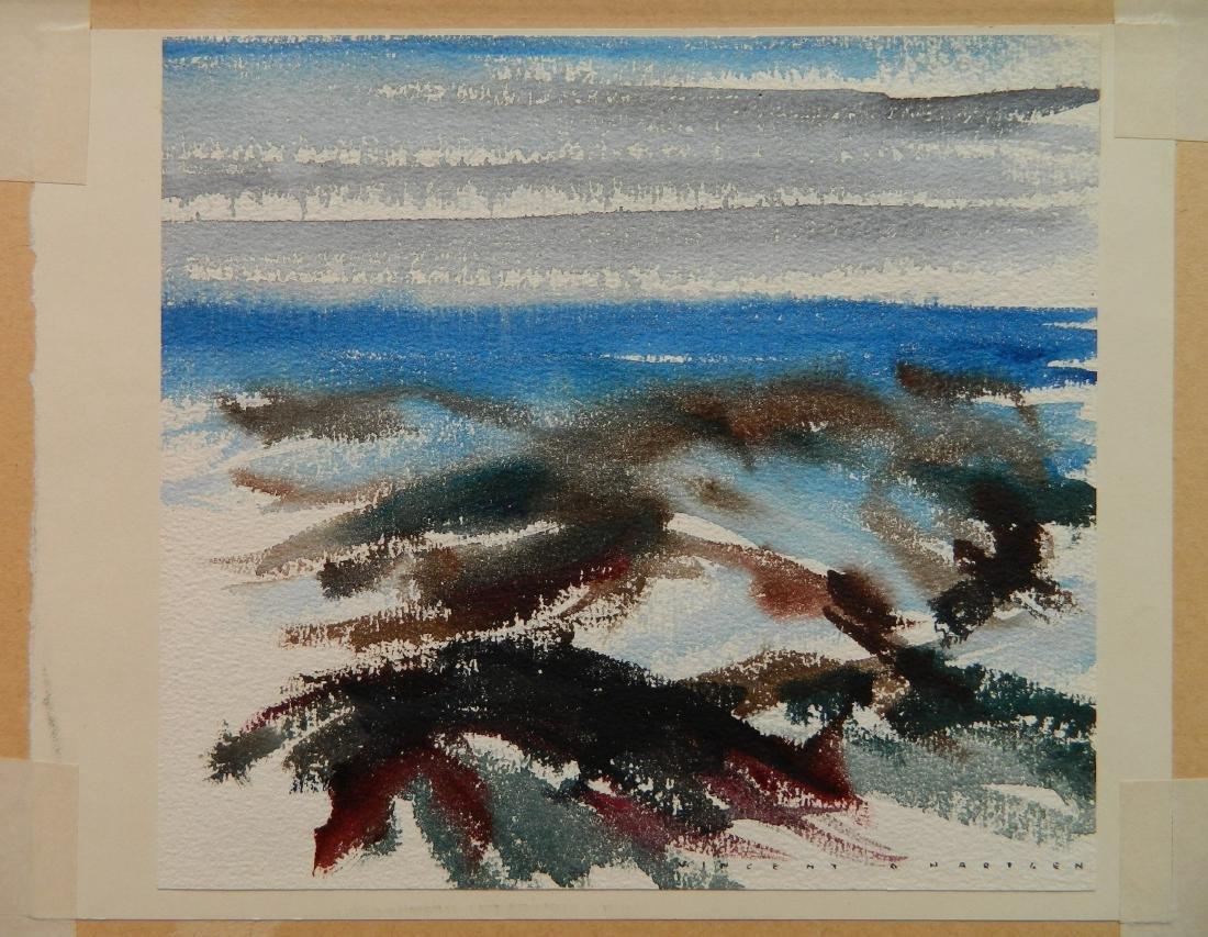 Vincent Hartgen watercolor - 2