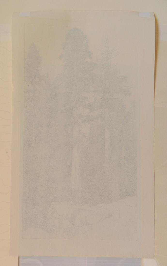 Ernest Haskell 2 etchings - 5