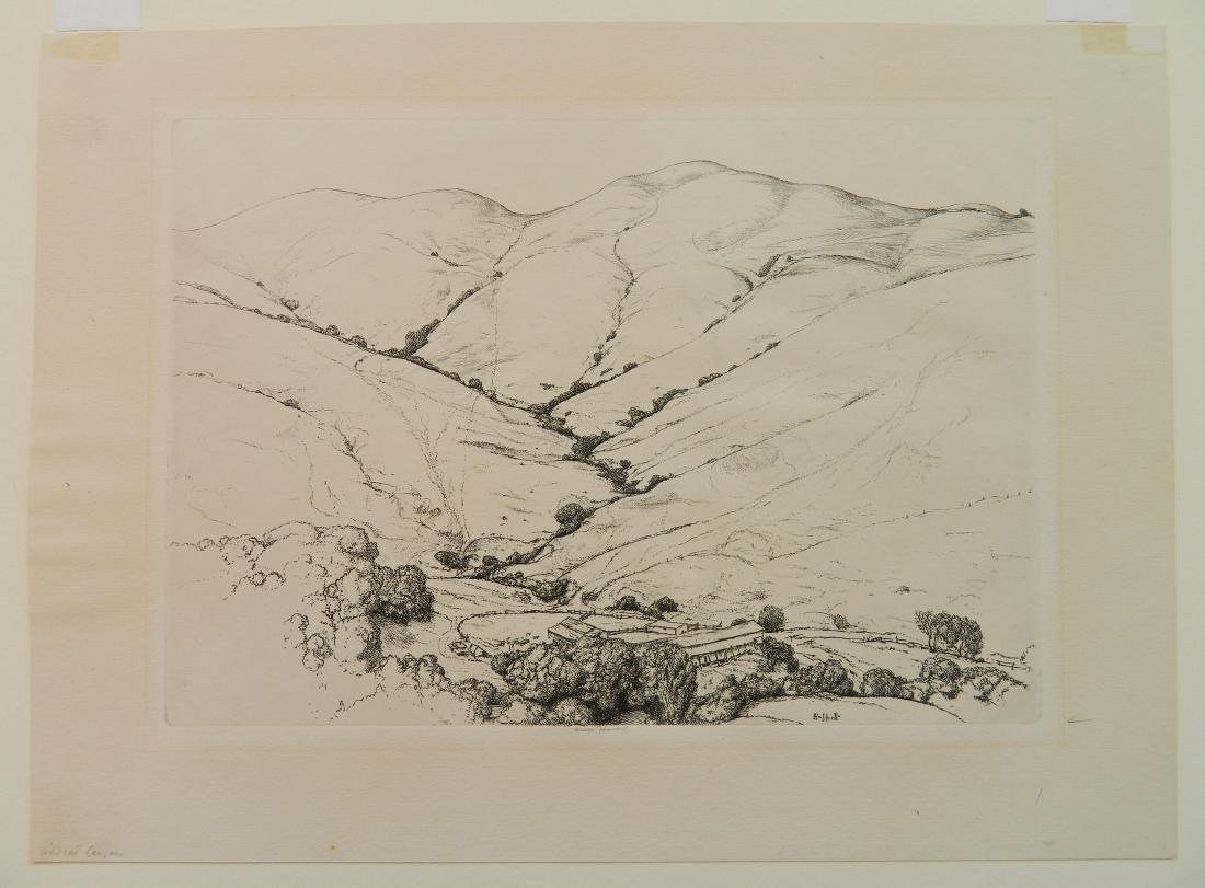 Ernest Haskell 2 etchings - 6