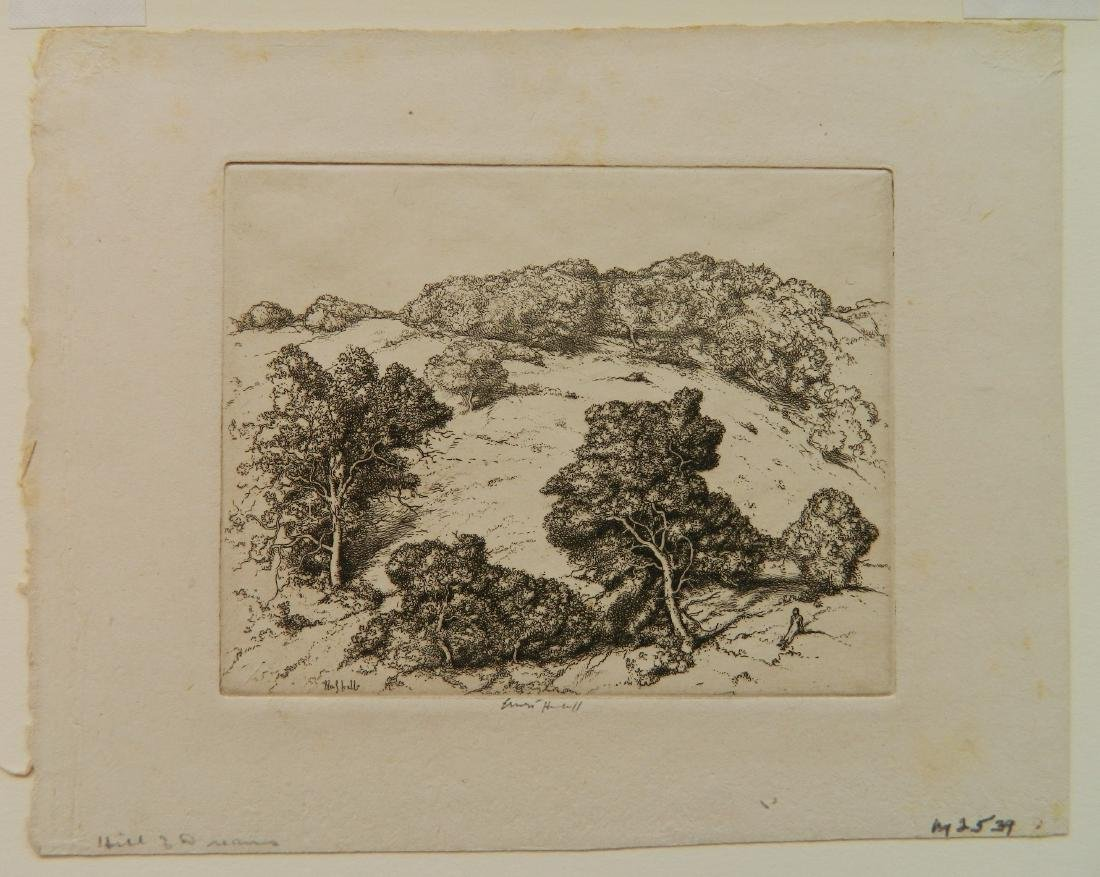 Ernest Haskell 3 etchings - 2