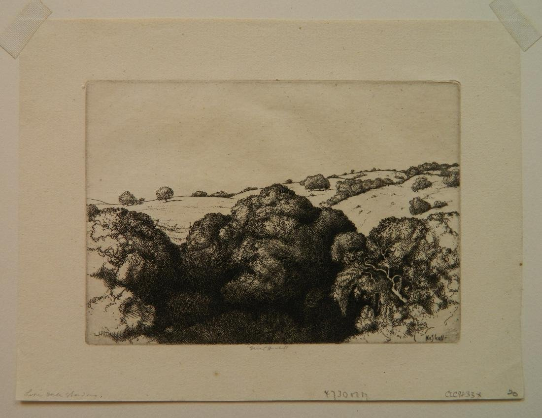 Ernest Haskell 3 etchings - 5