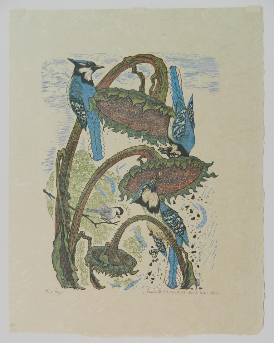 James D. Havens woodcut - 2