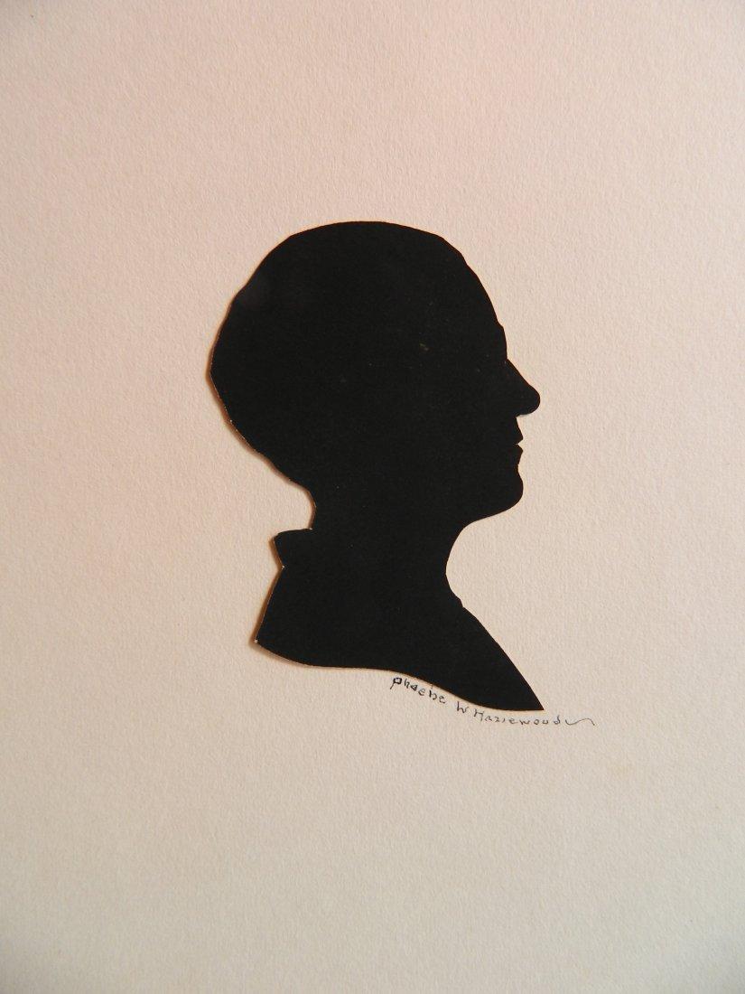 Phoebe Weeks Hazlewood paper-cut silhouette
