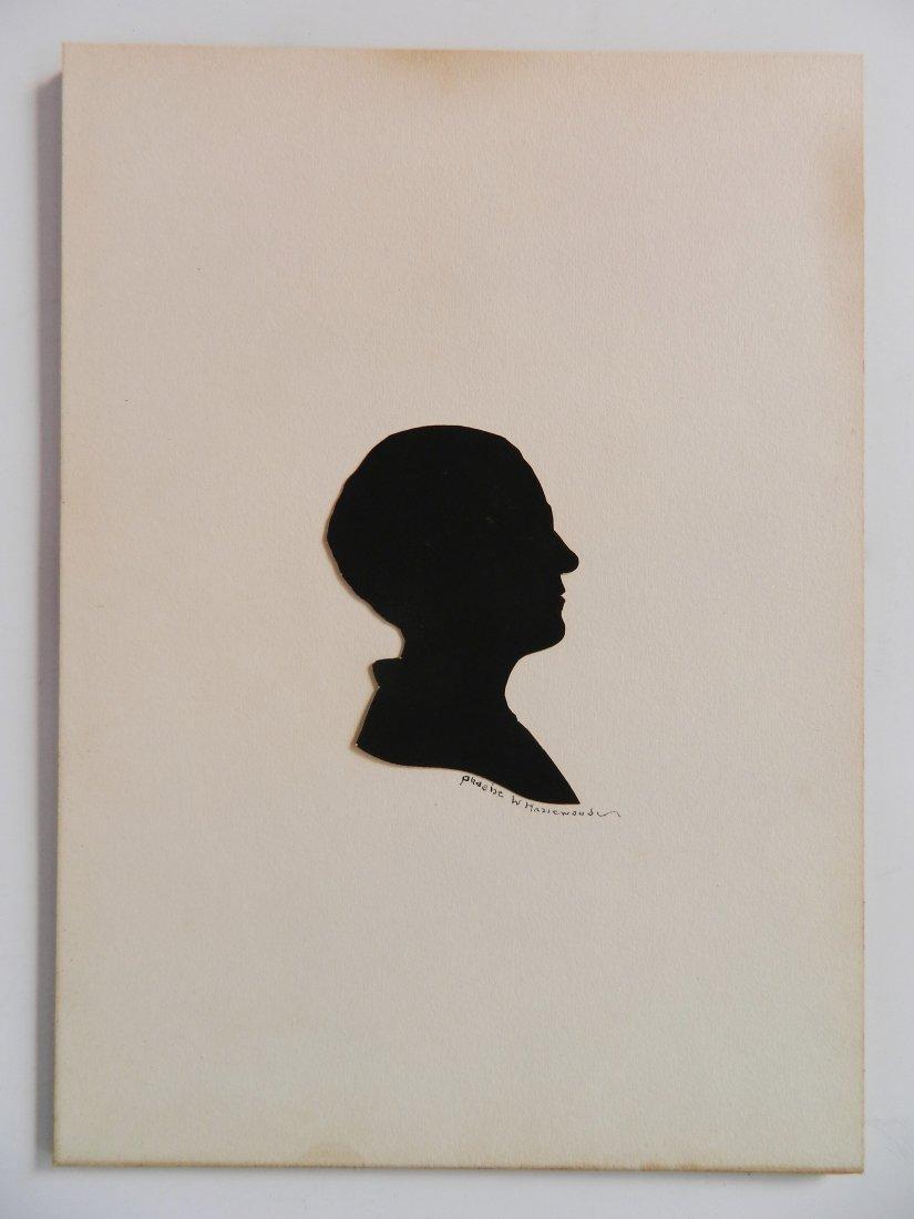 Phoebe Weeks Hazlewood paper-cut silhouette - 2