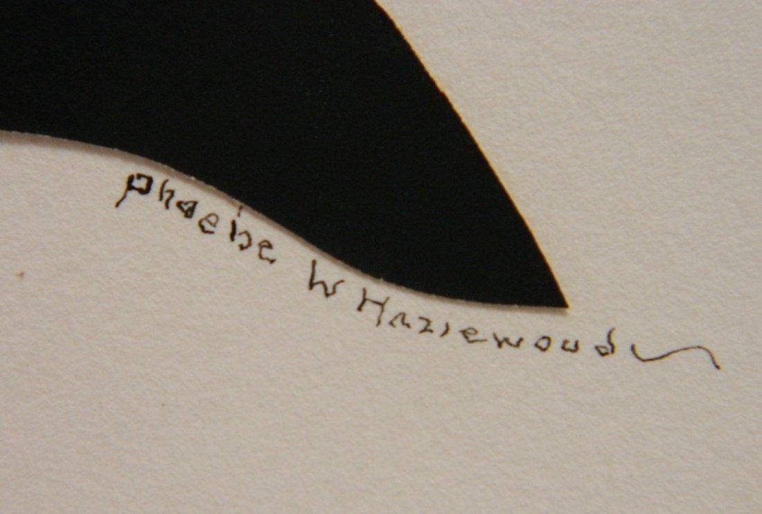 Phoebe Weeks Hazlewood paper-cut silhouette - 3