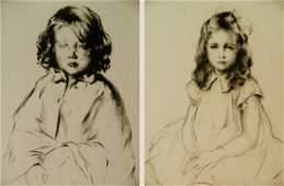 Arthur W. Heintzelman 2 etchings