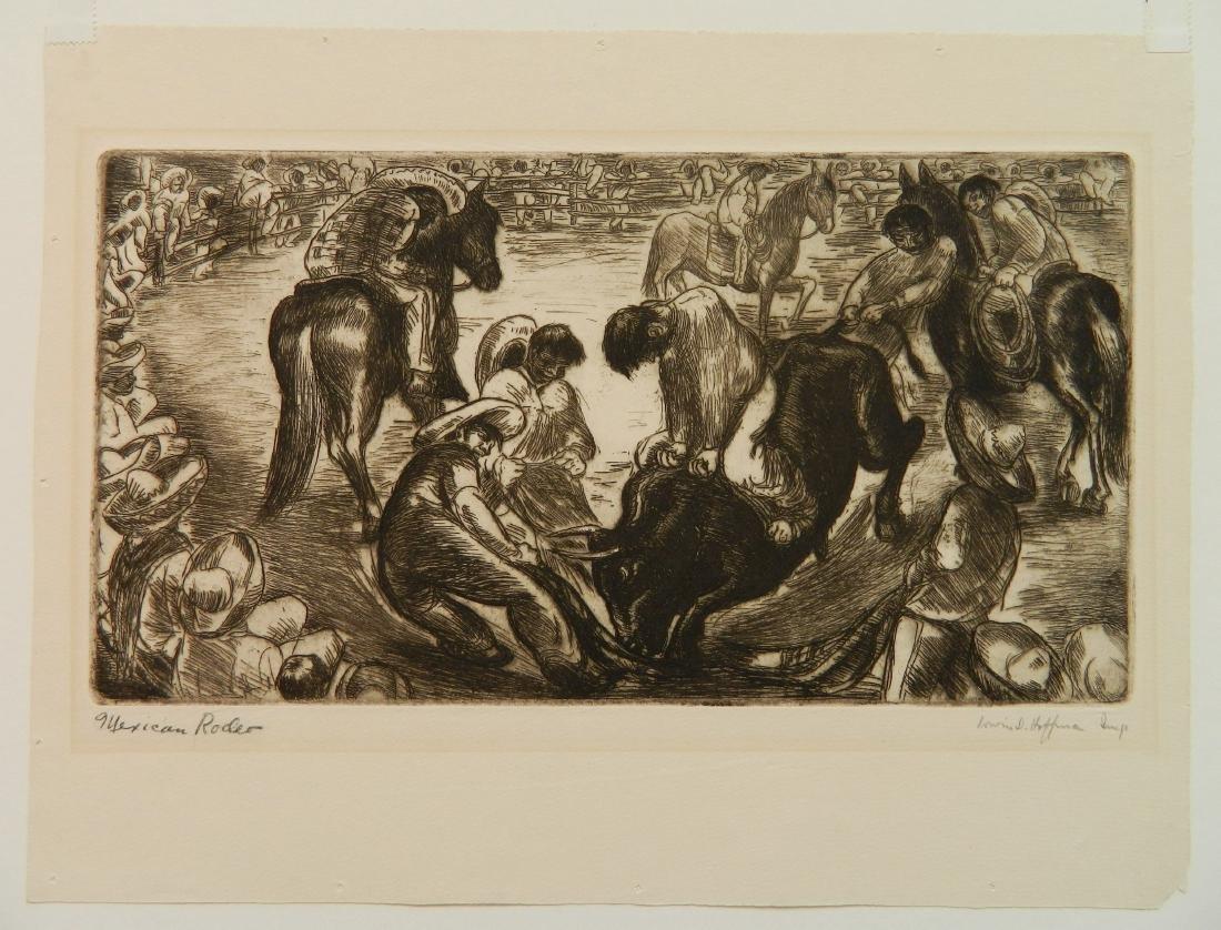 Irwin Hoffman 2 etchings - 5