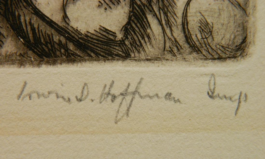 Irwin Hoffman 2 etchings - 6