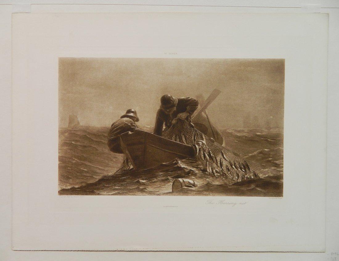 Winslow Homer 2 wood engravings - 3
