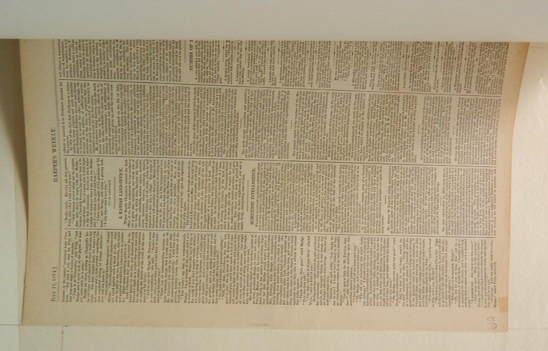 Winslow Homer 2 wood engravings - 7