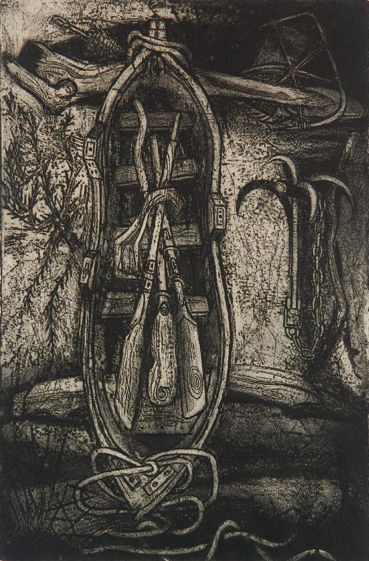 Billy Morrow Jackson etching